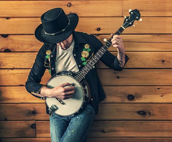 muzyk banjo